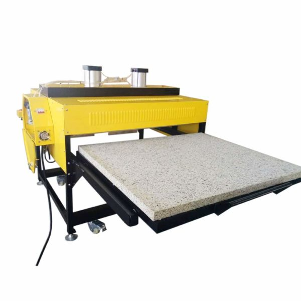 double table heat press
